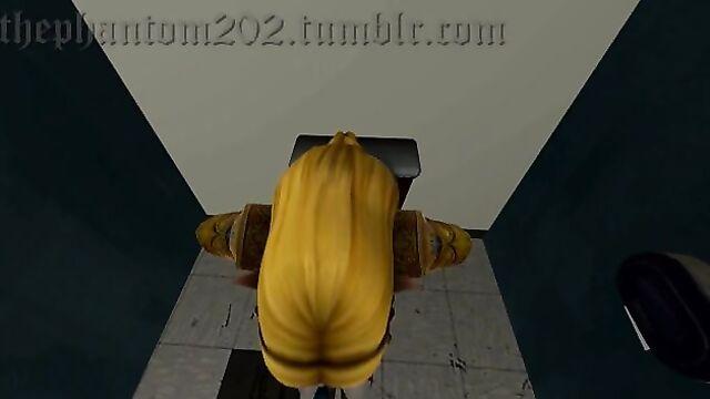Zelda Toilet bombing