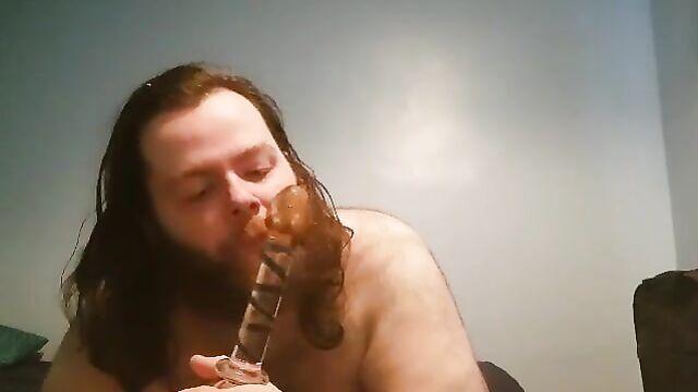 Dildo Sucking (Scat)