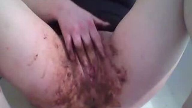 Scat in my pussy 33