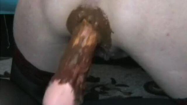 granny anal fuck machine - shit everywhere !!!!!