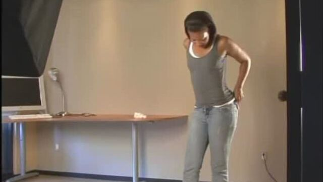 Soft brown turds on the plate from tight ebony ass - Scat Video Collection