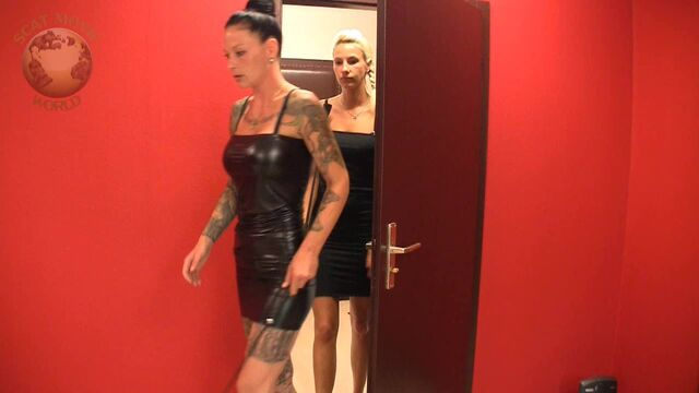 [Scat-Movie-World.com] Scat and pee with Lady Chantal and Miss Cherie